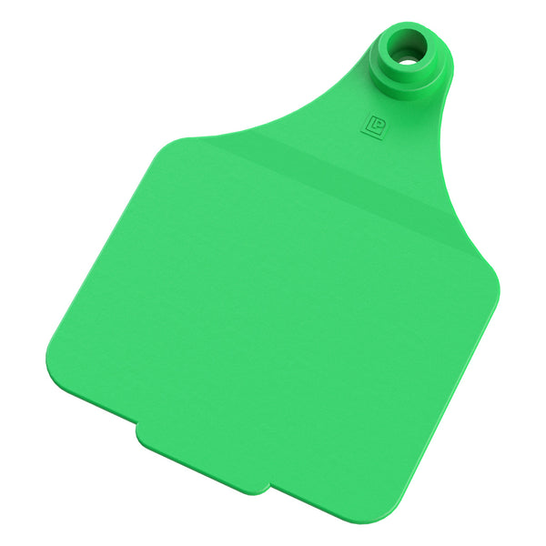 Leader Maxi 2Pc - Green (25 Per Bag) - Ear Tags Leader Products - Canada