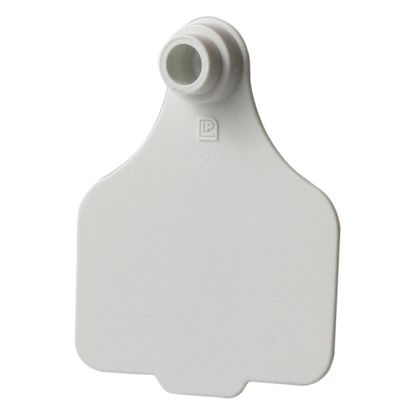 Leader Large White 2Pc 25S - Ear Tags Leader Products - Canada