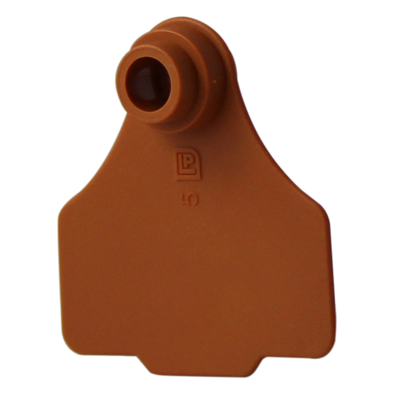 Medium 2Pc Brown - 25S - Brown - Ear Tags Leader Products - Canada