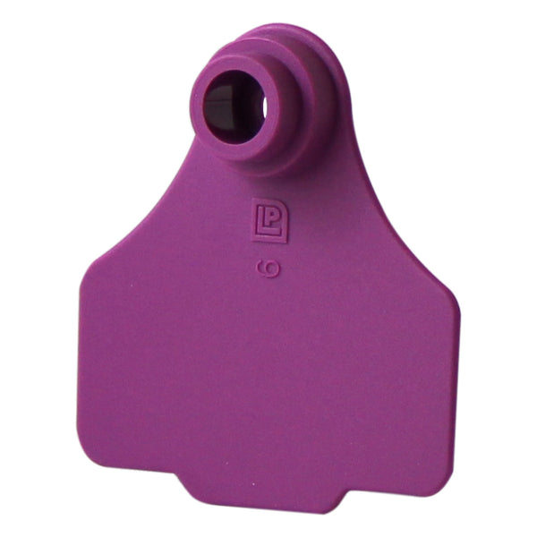 Medium 2Pc Purple - 25S - Purple - Ear Tags Leader Products - Canada