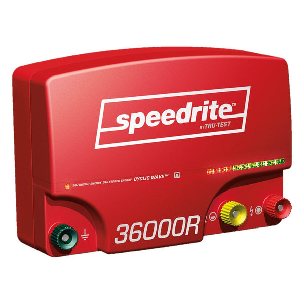 Speedrite 36000Rs 110V Energizer (Remote Included) - Fencing Speedrite - Canada