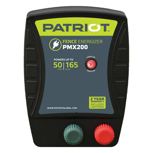 Patriot Pmx200 Fence Charger (110V) - Fencing Patriot - Canada