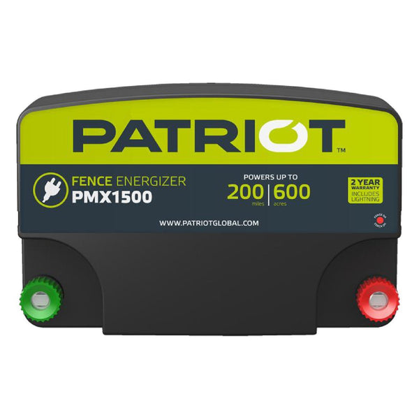Patriot Pmx1500 Fence Charger (110V) - Fencing Patriot - Canada