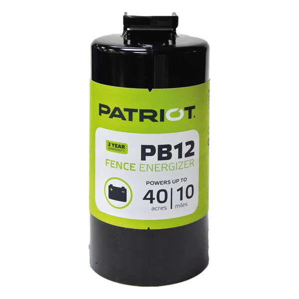 Patriot Pb12 Energizer (Dc) - Fencing Patriot - Canada
