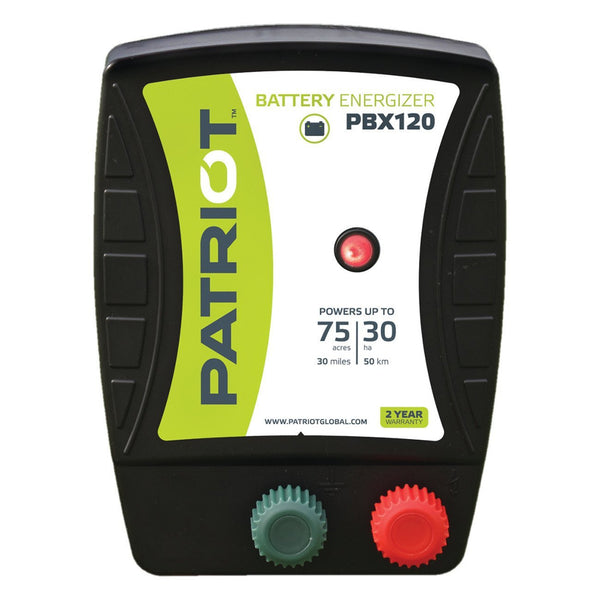 Patriot Pbx120 Fence Charger (12V) - Fencing Patriot - Canada