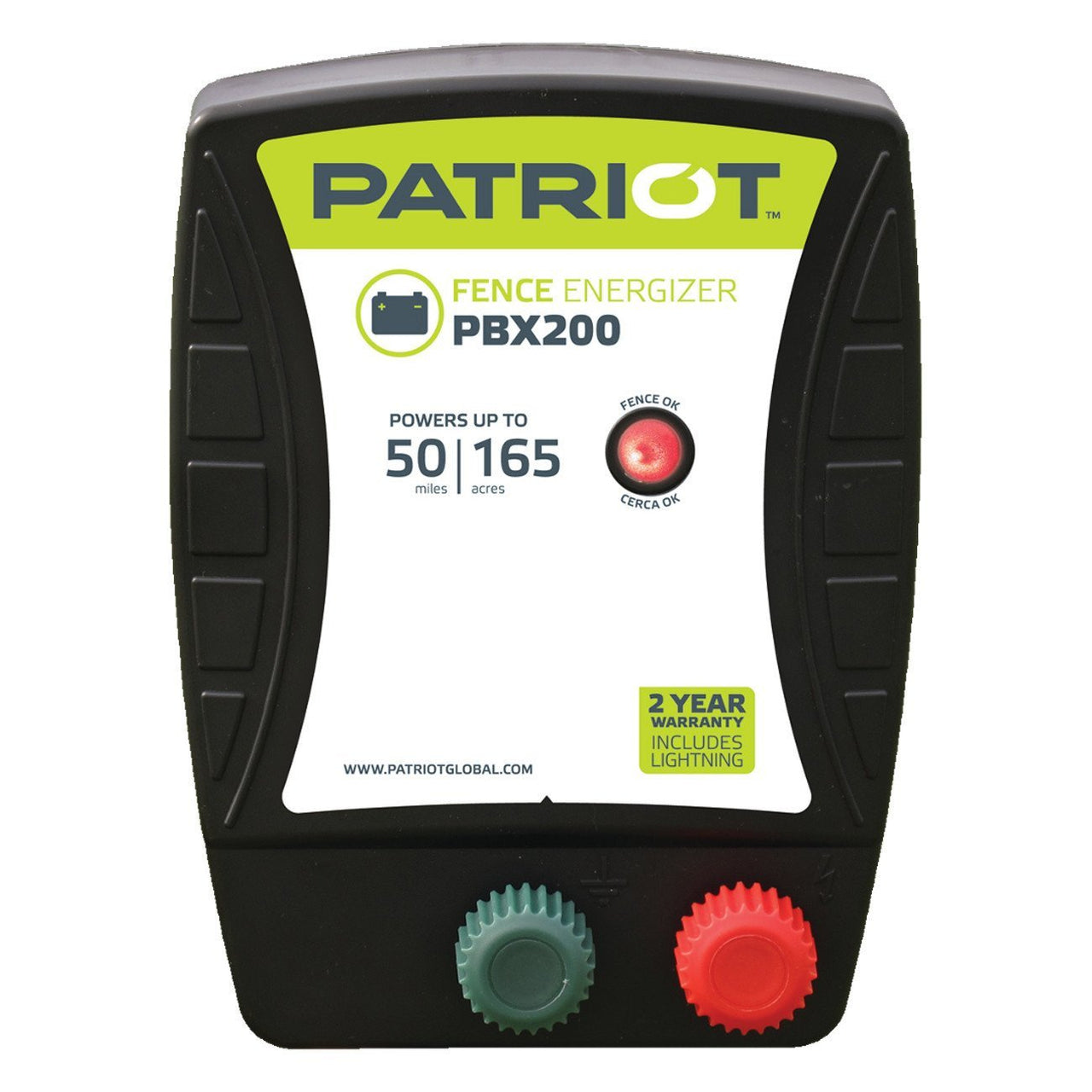 Patriot Pbx200 Fence Charger (12V) - Fencing Patriot - Canada