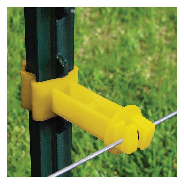 "Patriot 2"" wrap around t-post extender (Yellow) (25 pack)"
