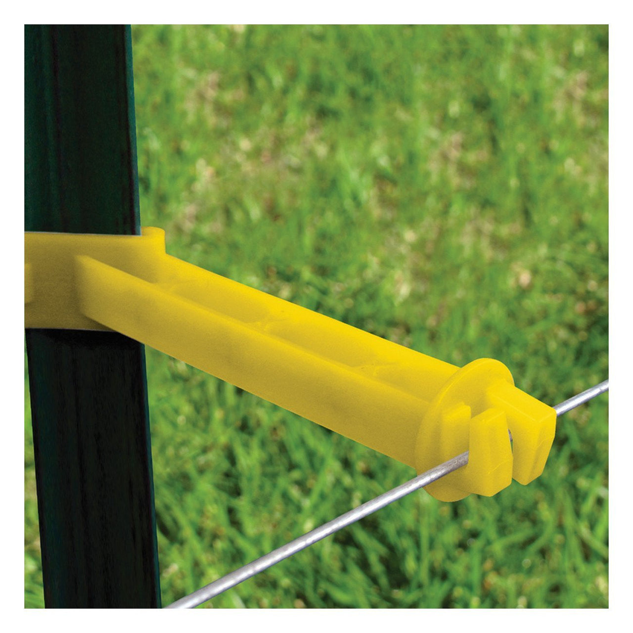 Patriot Backside T-Post Extender - 5 (Yellow) - Fencing Patriot - Canada