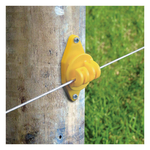 Patriot Wood Post Claw - Yellow (25 Pack) - Fencing Patriot - Canada