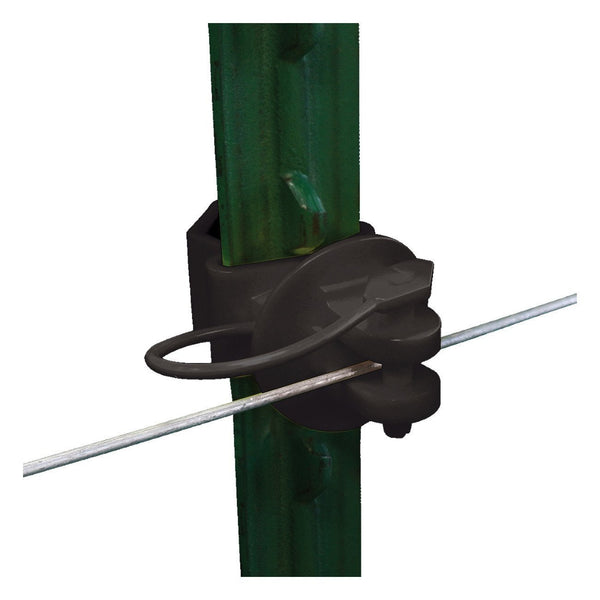 Patriot Wrap Around T-Post Pinlock - Black (25 Pack) - Fencing Patriot - Canada