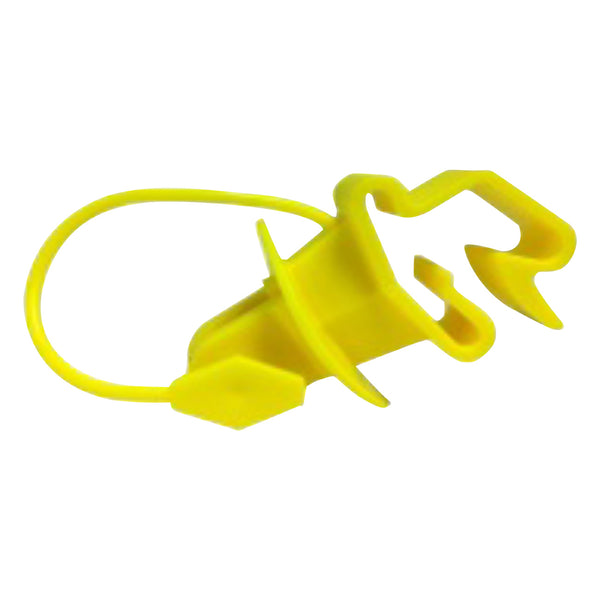 Patriot Wrap Around T-Post Pinlock - Yellow (25 Pack) - Fencing Patriot - Canada