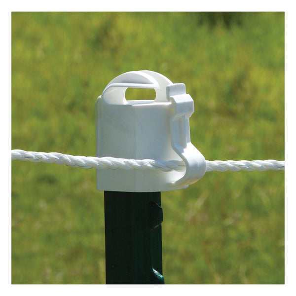 Patriot White T-Post Topper (10 Pack) - Fencing Patriot - Canada