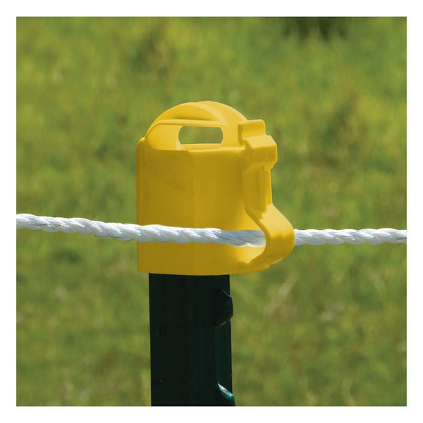 Patriot Yellow T-Post Topper (10 Pack) - Fencing Patriot - Canada