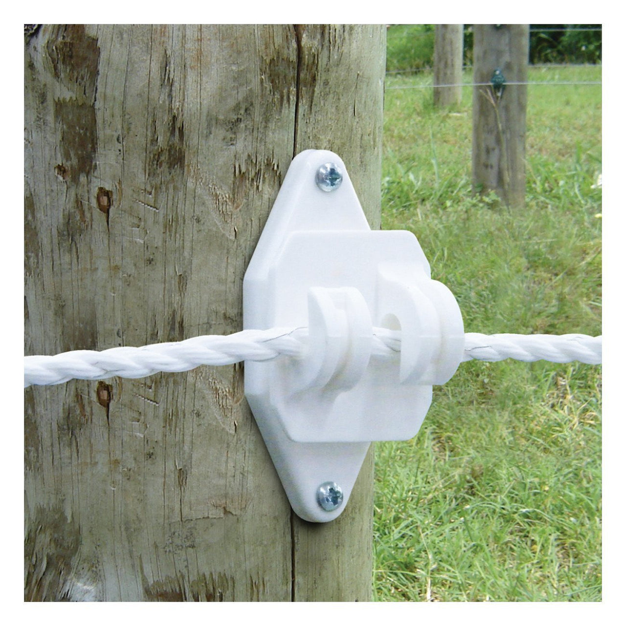 Patriot White Wood Post Claw Insulator (25 Pack) - Fencing Patriot - Canada