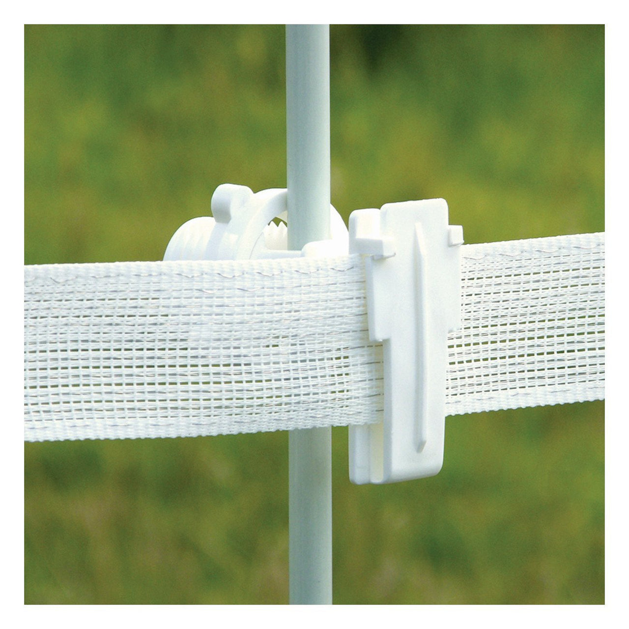 Patriot White Rod Post Wide Tape Insulator (25 Pack) - Fencing Patriot - Canada