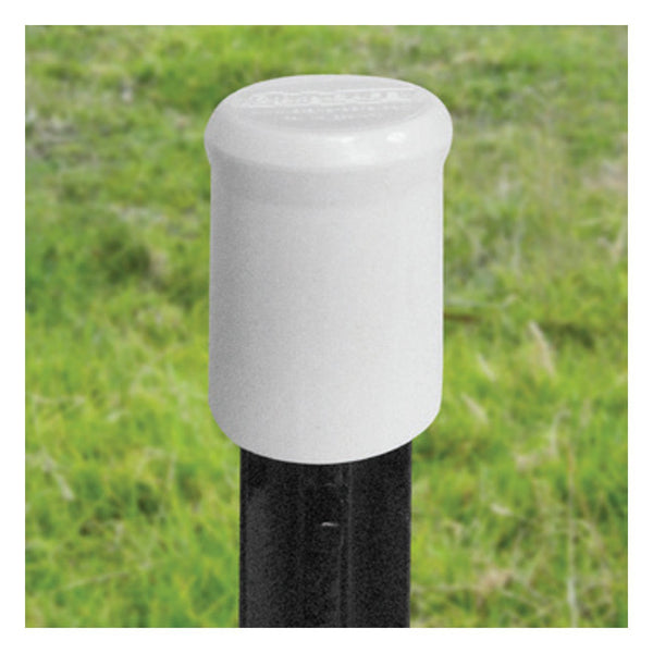 Patriot White T-Post Safety Cap (10 Pack) - Fencing Patriot - Canada