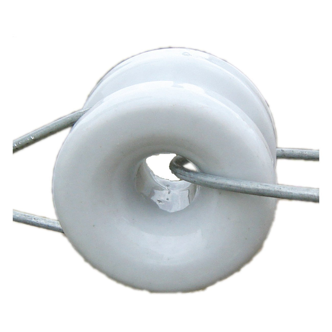 Patriot Porcelain Donut Insulator (10 Per Box) - Fencing Patriot - Canada