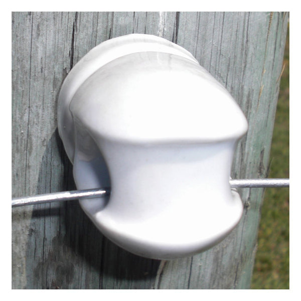 Patriot Porcelain Screw-In Insulator (Large) 15/bx - Fencing Patriot - Canada