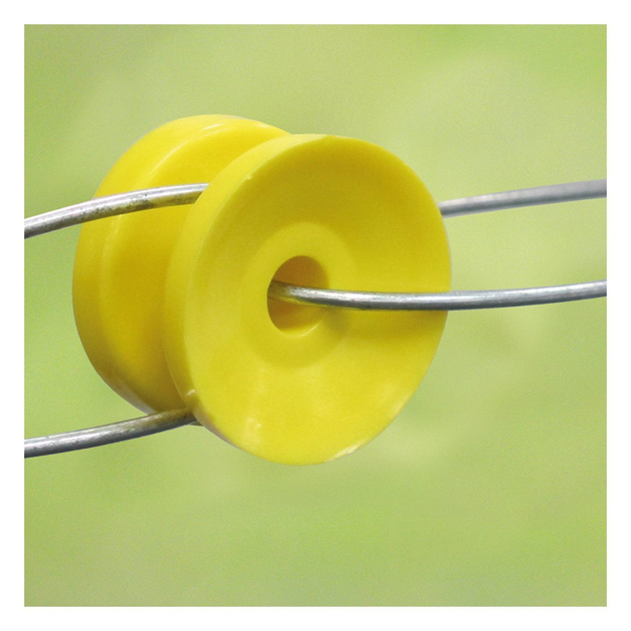 Patriot Corner Bobbin Insulator - Yellow (10 Pack) - Fencing Patriot - Canada