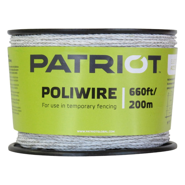 Patriot Poliwire - 660 White - Fencing Patriot - Canada