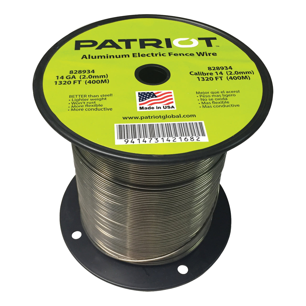 Patriot 14 Gauge Aluminum Wire 1320 - Fencing Patriot - Canada
