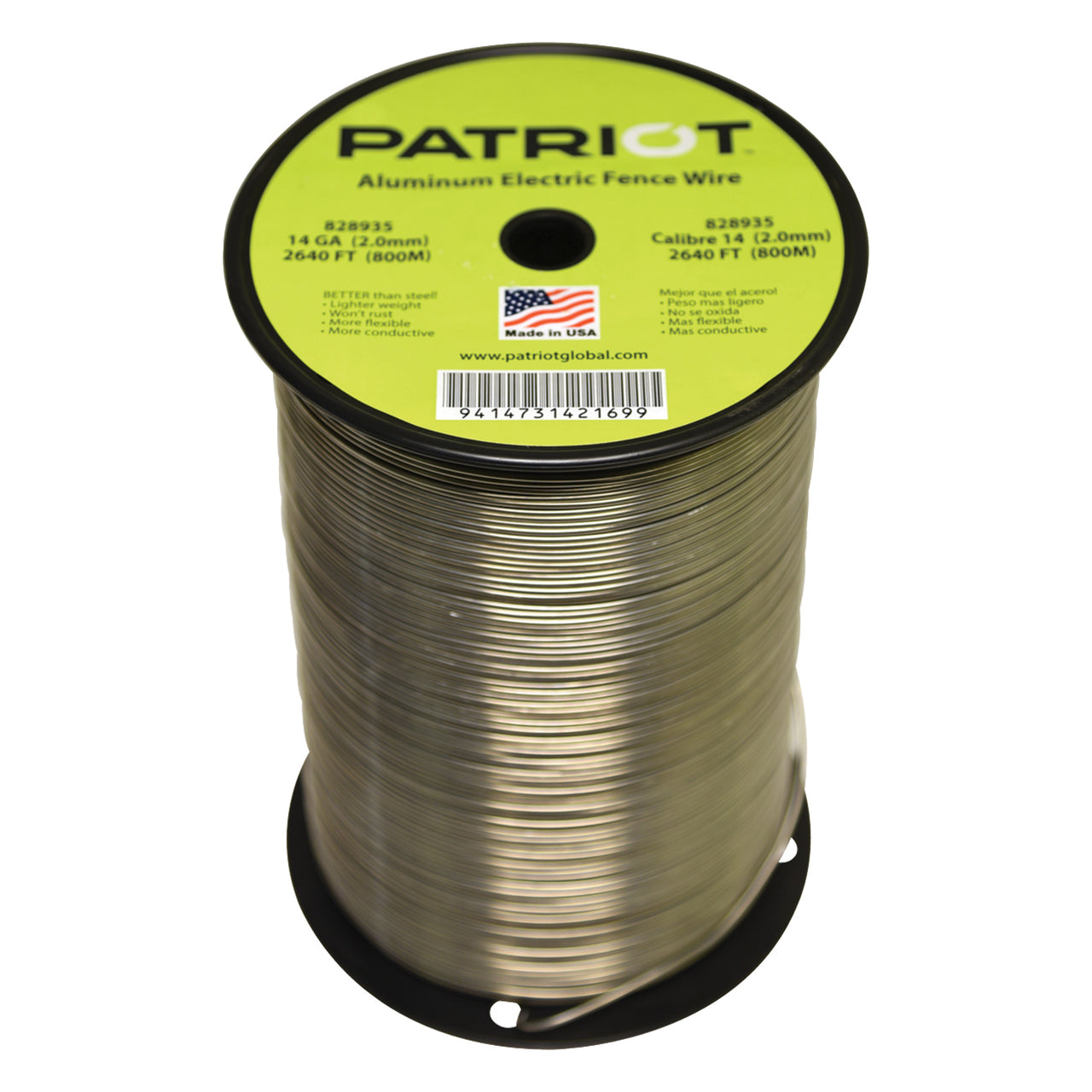 Patriot 14 Gauge Aluminum Wire 2640 Remedy Animal Health Store To Copper Wiring