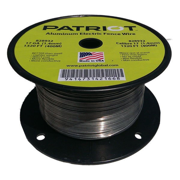 Patriot 17 Gauge Aluminum Wire 1320 - Fencing Patriot - Canada