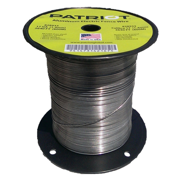 Patriot 17 Gauge Aluminum Wire 2640 - Fencing Patriot - Canada