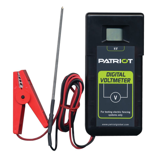 Patriot Digital Voltmeter - Fencing Patriot - Canada