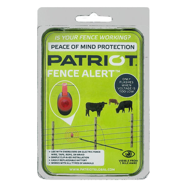 Patriot Fence Alert Warning Light - Fencing Patriot - Canada