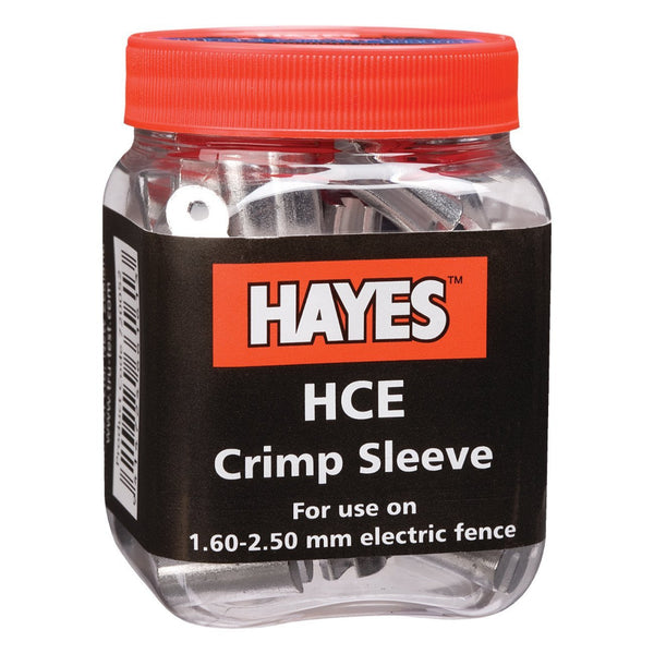 Hayes Hce Crimp Electric 16 - 12 1/2 Ga. (50 Units) - Fencing Hayes - Canada