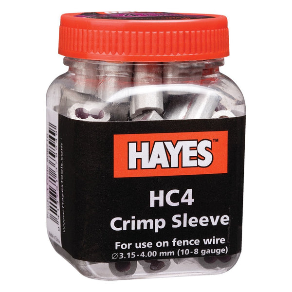 Hayes Hc4 Crimp 8 - 9 Ga. (50 Units) - Fencing Hayes - Canada