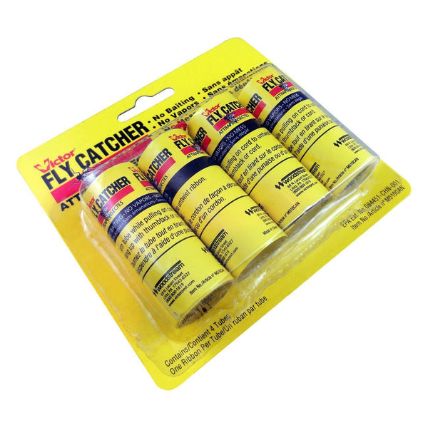 Victor Fly Catching Ribbon (4 Pack) - Pest Control Victor - Canada