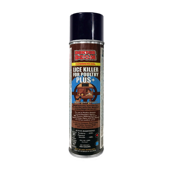 Doktor Doom Lice Killer For Poultry Plus+ 550g