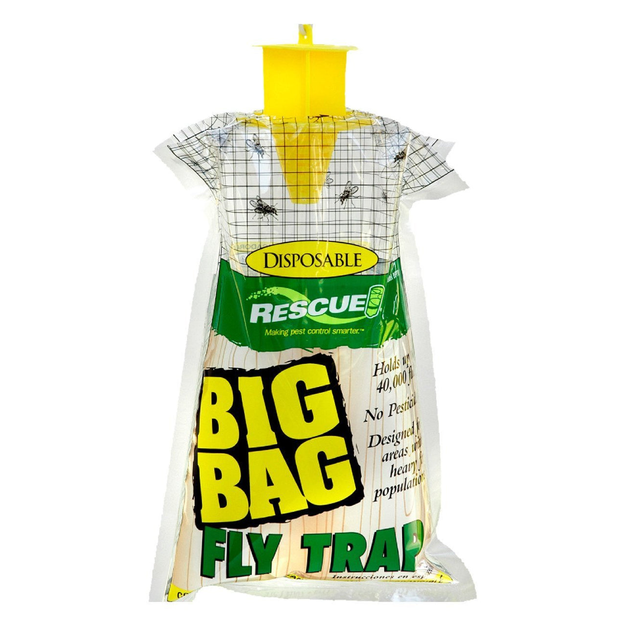 Rescue! Fly Big Bag Traps Disposable (12 Traps) - Pest Control Rescue! - Canada