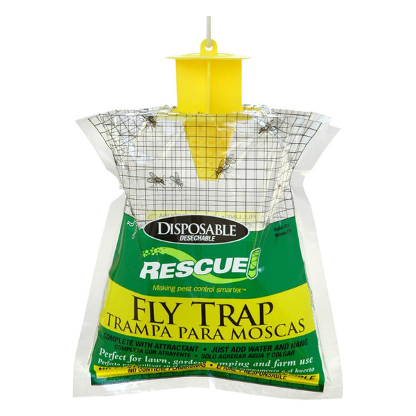 Rescue! Fly Trap Bags Disposable (12 Traps) - Pest Control Rescue! - Canada