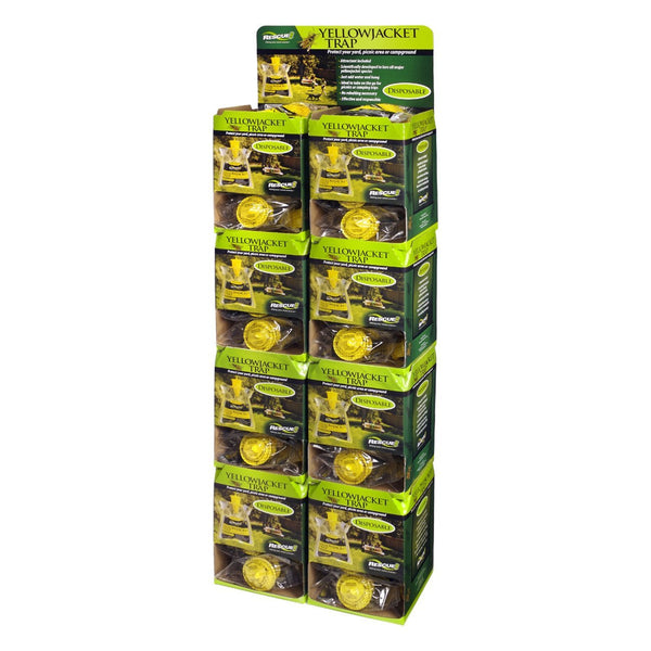 Rescue! Yellow Jacket Bag Traps Disposable (48 Traps) - Pest Control Rescue! - Canada