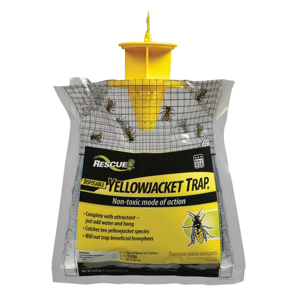 Rescue! Yellow Jacket Bag Traps Disposable (48 traps)