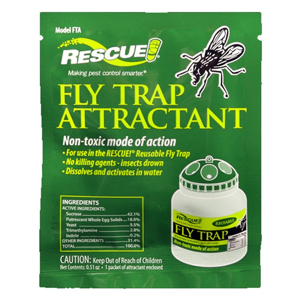 Fly Trap Attractant (12 Packs) - Pest Control Rescue! - Canada