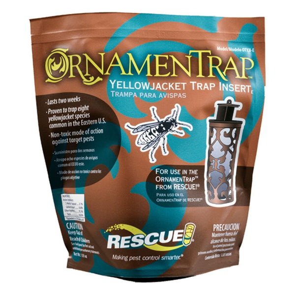 Rescue! Ornamentrap Yellowjacket Replacement Insert (8 Pack) - Pest Control Rescue! - Canada