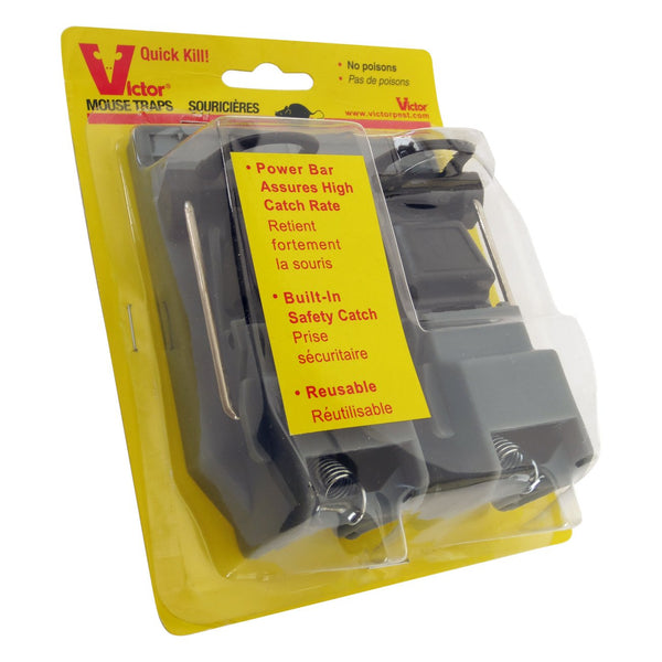 Victor Quick Kill Mouse Trap (2 Pack) - Pest Control Victor - Canada