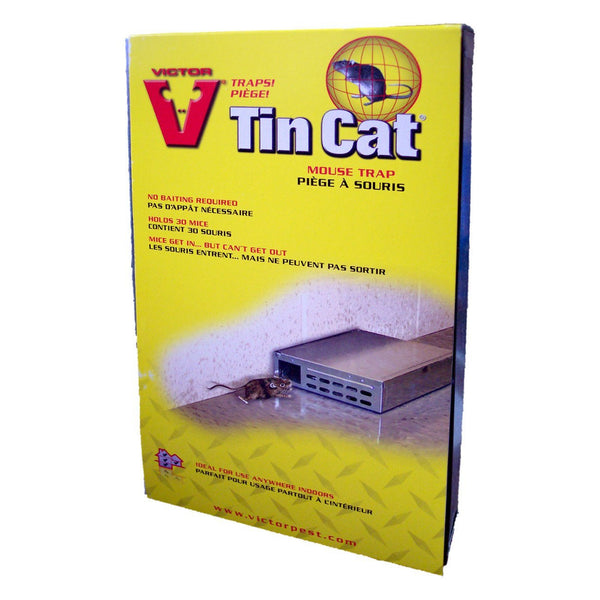 Victor Tin Cat Solid Top - Pest Control Victor - Canada