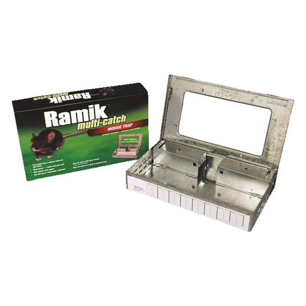 Ramik Multi Catch Mouse Trap (Tin Cat Style) - Pest Control Ramik - Canada