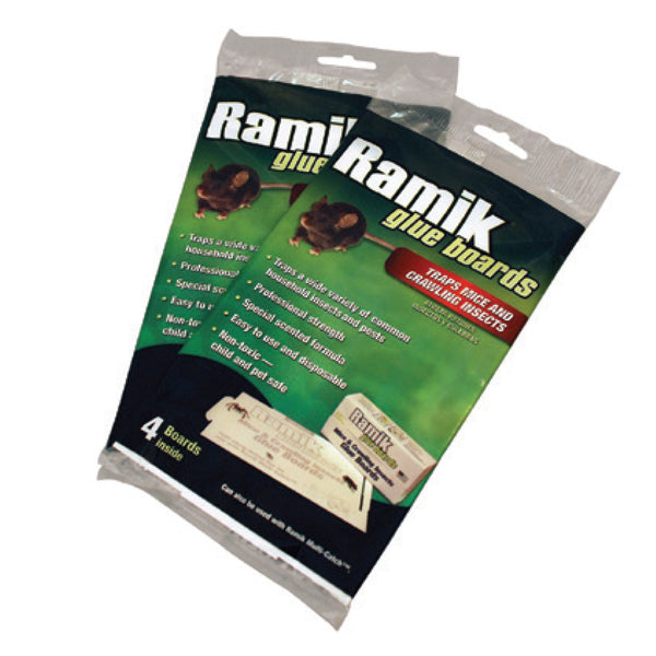 Ramik Mice and Insect Glue Boards (4 pack)