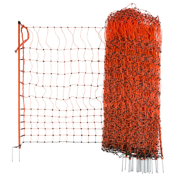 CORRAL poultry netting double prong 112cm x 50m