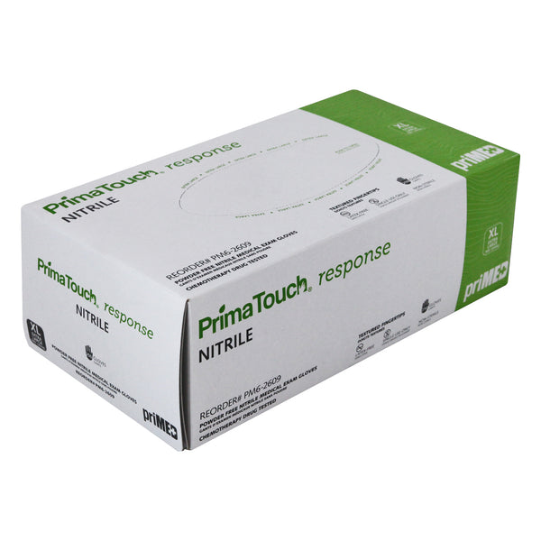 PrimaTouch Response Nitrile medical exam gloves Extra Large (250 per box)