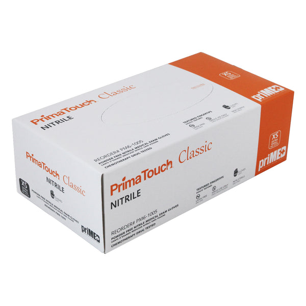 PrimaTouch Classic Nitrile gloves powder free Extra Small (150 per box)