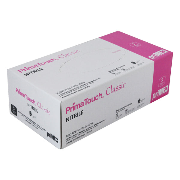 PrimaTouch Classic Nitrile gloves powder free Small (150 per box)