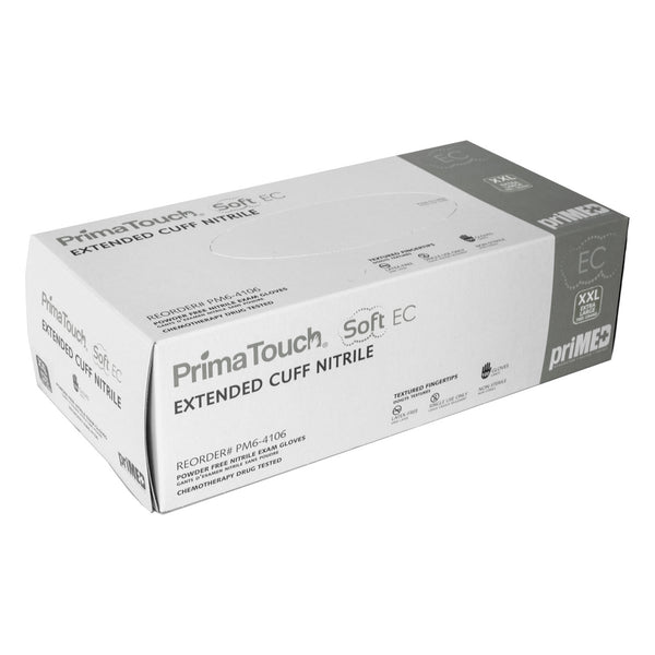 PrimaTouch Soft EC Nitrile gloves powder free X Extra Large (100 per box)