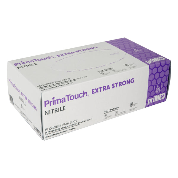 PrimaTouch Extra Strong Nitrile gloves powder free Large (100 per box)